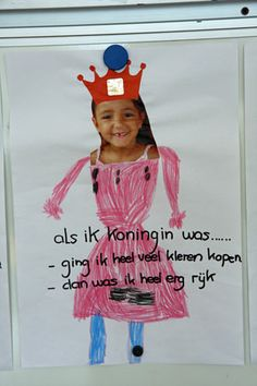Mijn Tweesprong; Koningsdag 2013 Kids Rewards, Kings Day, Crafts For Girls, Handicraft, Holland, Fairy Tales, Diy Crafts, Learning, Creative