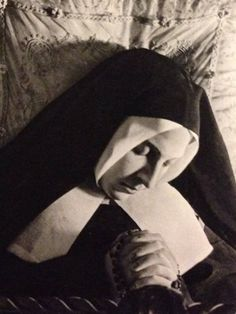 St Bernadette...she saw The Blessed Mother several times...