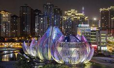 Lotus Building , China ...