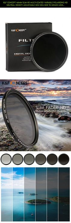 K&F Concept 46mm Slim HD Multi-Coated Variable Polarizing ND Neutral Density Adjustable ND2 ND4 ND8 to ND400 Lens Filter + Lens Cleaning Cloth for DSLR Cameras #accessories #fpv #camera #gadgets #1 #technology #plans #inspire #parts #drone #kit #racing #shopping #kit #dji #tech #products
