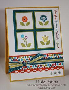 retiring stamp set - bright blossoms