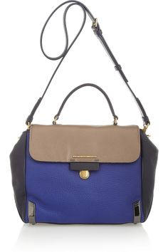 Marc by Marc Jacobs - Sheltered Island color-block leather tote fee1f59a6efbd