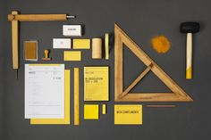 Identity and stationery set for Singapore-based design outfit, ACRE.