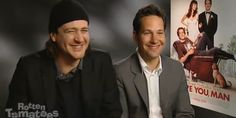 Paul Rudd And Jason Segel Are High As Kites In Unseen Interview (Video) | Elite Daily