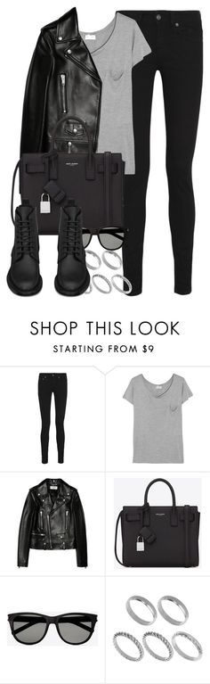 """Style #4244"" by vany-alvarado ❤ liked on Polyvore featuring Yves Saint Laurent and ASOS"