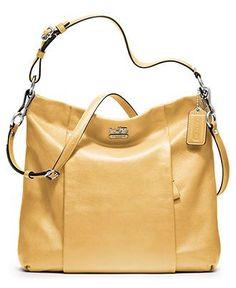 COACH MADISON LEATHER ISABELLE - COACH - Handbags & Accessories - Macys - ladies purse handbag, bags & purses, name brand handbags *ad