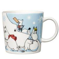 (Talvi Lumileikkejä / Moomin seasonal mug (Winter Winter Games Christmas Cup, Christmas Games, Marimekko, Moomin Mugs, Moomin Valley, Tove Jansson, White Books, Scandinavian Interior Design, Scandinavian Style