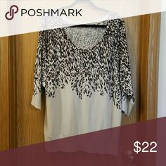 Spotted while shopping on Poshmark: Long Cheetah Sweater!! #poshmark #fashion #shopping #style #DKNYC #Sweaters