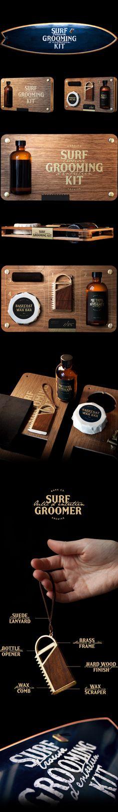 ethos / Surf Grooming Kit - Product identity & packaging
