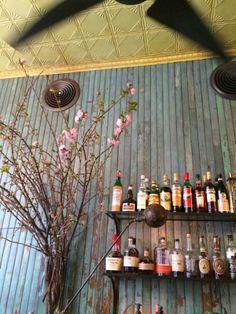 Cafe Colette - Brooklyn, NY. More inspiration: http://eleganzais.tumblr.com/