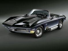Corvette Mako Shark Concept Car '1962 - Chevrolet Wallpaper ID 1215014 - Desktop Nexus Cars
