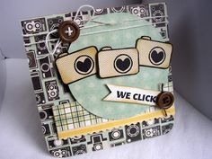 Cute card created by Stephanie Muzzulin using Unity Stamp Co. stamps