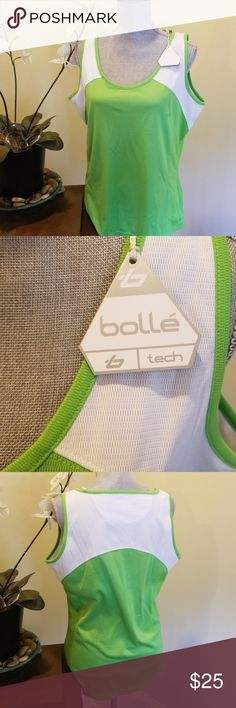 Bolle tank top NWT size XL Bolle tennis tank top perfect for any outdoor activity NWT size XL  Cycle running tank Bolle Tops Tank Tops