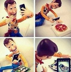 Woody Discovers Instagram