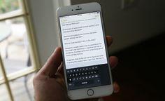 Handykey: Cómo Escribir con una Sola Mano en iPhone 6 y 6 Plus | Cydia