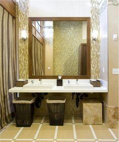 Contemporary (Modern, Retro) Bathroom by nicole schmidt