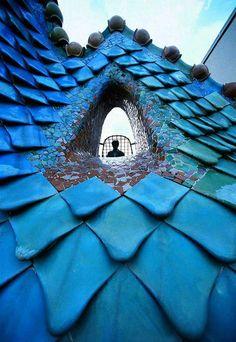 Las Fotos Mas Alucinantes: Gaudi. Casa Batlló. Barcelona