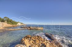 Waterfront property with private dock at Cap d'Antibes for Sale