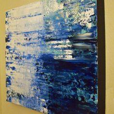 "From my shop - ""Deliverance"" (2014) Acrylic on gesso hardboard panel, 24x30 gorntoart.com"