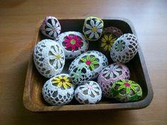 12 Naturel,Crochet Covered Beach lace Stones ,..home decor ,wedding gift,decor,Handmade by Arzu
