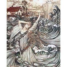 Arthur Rackham, Westminster, Artwork Prints, Poster Prints, Haida Art, Fairytale Art, Norse Mythology, Vintage Artwork, Vintage Illustrations