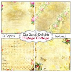 50% OFF TODAY Vintage Bible Journaling by DigiScrapDelights