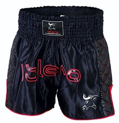 From 6.99 Islero Muay Thai Fight Shorts Mma Kick Boxing Grappling Martial Arts Gear Ufc Men (large)