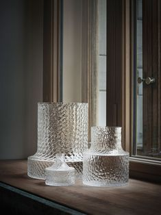 "NM ""Kolonn vases by Carina Seth Andersson produced by Skruf. Photo by P… NM ""Les vases Kolonn de Carina Seth … Home Decor Baskets, Basket Decoration, Home Decoration, Decorations, Interior Design Tips, Interior And Exterior, Interior Styling, Design Ideas, Home Decor Accessories"