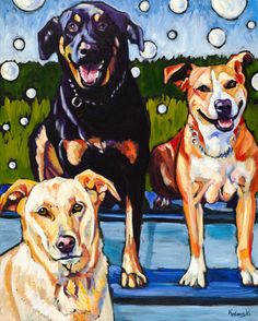 Pet Portraits and Oil Paintings by Kathryn Wronski | Custom Pet Portraits With Photographs