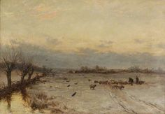 Souvenir of March by David Bates  Date painted: 1886 Oil on canvas, 50.5 x 76.5 cm Collection: Worcester City Museums