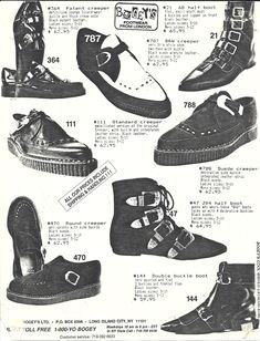 • goth doc martens 80s Fashion gothic fashion 80s goth pointy boots dance-to-the-radi-o •