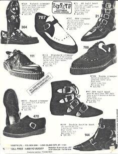 • goth doc martens 80s Fashion gothic fashion 80s goth pointy boots dance-to-the-radi-o •