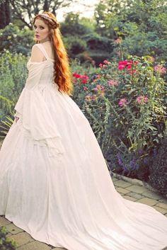 Nataya Medieval Wedding Gowns Marie Antoinette Renaissance Wear Jewelry At RomanticThreads