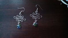 Figure 8 infinity earrings