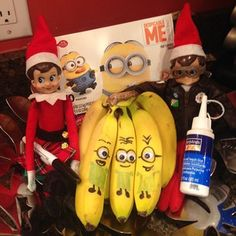 Despicable Me | 43 Awesome Elf On The Shelf Ideas To Steal This Christmas