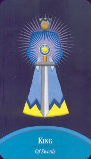 Example card from the Lars-Kristian Holmsen Tarot. DISCOVER MORE: http://www.tarotacademy.org/tarot-with-cards/