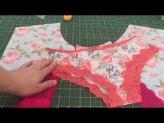 Underwear Pattern, Bra Pattern, Lingerie Bonita, Sewing Tutorials, Sewing Patterns, Diy Bra, Girl Dress Patterns, Sewing Lessons, Diy Clothes