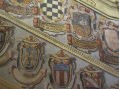 Ceiling detail. Italian-1500's