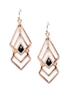 Aztec Goddess Geometric Earrings #fashion #gold #statementearrings #earrings - 15,90 € @happinessboutique.com