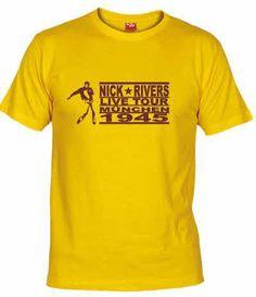 Camiseta de la gira Alemana de Nick Rivers (de la película TOP SECRET)