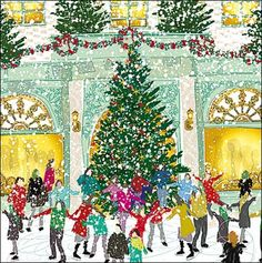 Introducing the first card in our #ChristmasCountdown ...  Enjoy this lush charity card sold in packs of 5 in aid of Wateraid  http://www.woodmansterne.com/greeting-cards/christmas/