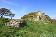 This is Deganwy castle - fortress of Gwynedd from about 500 to the 1200s