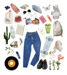 """""""Market"""" by dilaraaygun on Polyvore featuring Chandelier, PèPè, Dr. Martens, CASSETTE, Pyrrha, Pier 1 Imports, art and androgynous"""
