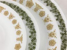 24 Piece Corelle Butterfly Dinnerware Table Settings by CorningDinner set for 4 Dinnerware