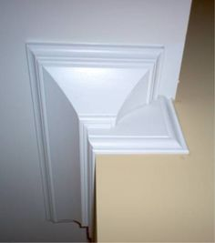 Image result for how to end crown molding on an outside corner