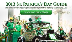 St. Patrick's Day Savannah Guide   Live Music   Parade   Parking   Bars