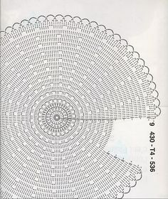 Amo tapetes desse modelo e nes Discover thousands of images about The Snorka crochet doily rug pattern is designed for crocheting with t-shirt yarn. Crochet Doily Rug, Crochet Rug Patterns, Crochet Carpet, Crochet Circles, Crochet Round, Crochet Home, Crochet Shawl, Free Crochet, Crochet Crafts