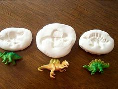 Dinosaurs- make our own fossils