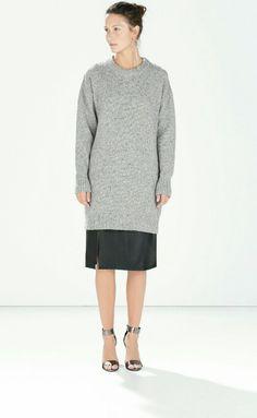 Zara fall 2014 #dress #zara #wishlist #fashion #fall #fall2014 #vestido #listadedeseos #moda #otoño #otoño2014
