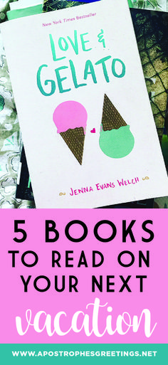 5 Books to Read on Your Next Vacation